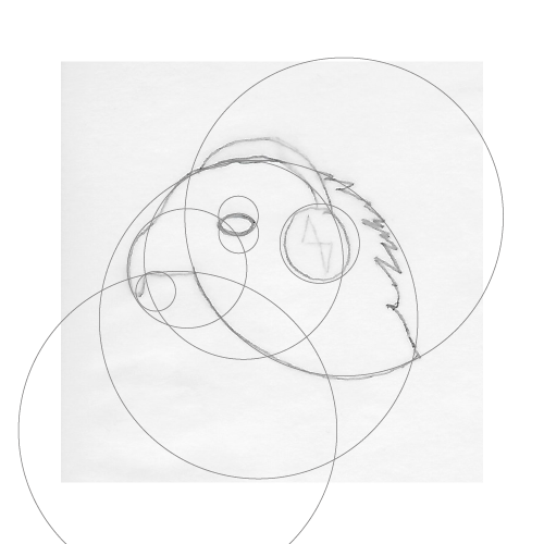 Golden Circles on Concept Sketch